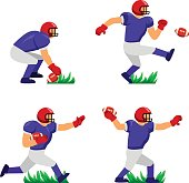 american football player character