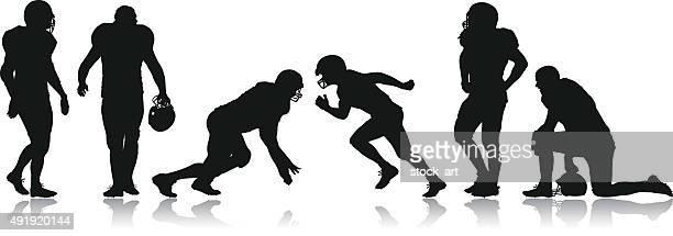 Jogadores de futebol americano