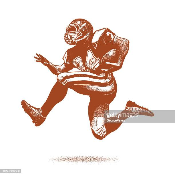 American Football Running Back