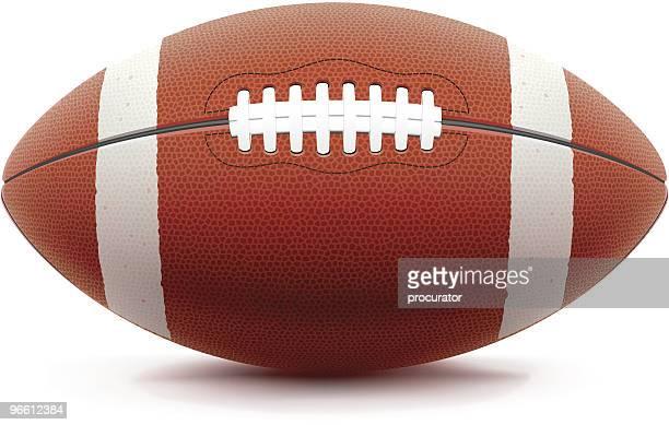 american football - american football ball stock illustrations