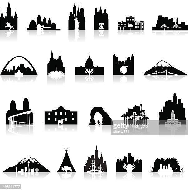 American Icons Super Set - Illustration