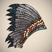 American Indian Headdress.
