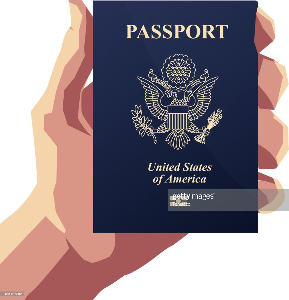 American Passport PP - Illustration