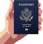 American Passport PP - Illustration
