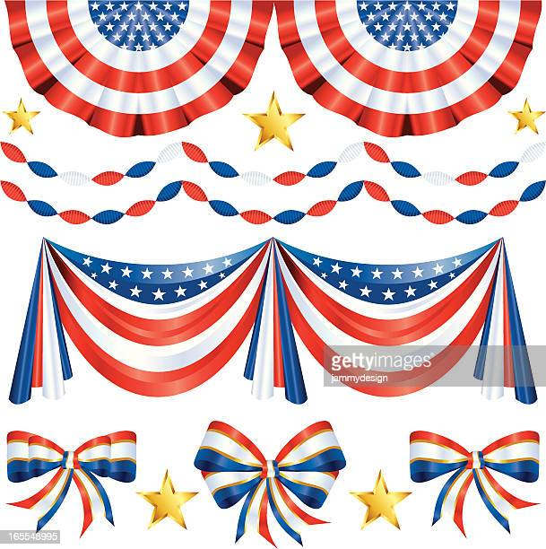 bunting vector art and graphics getty images