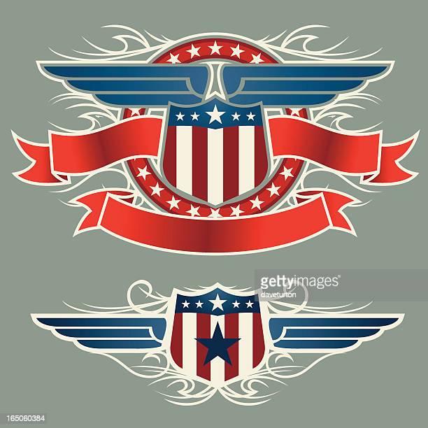 American protector y alas con Banner