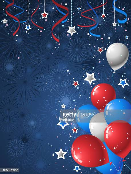 american style background - political party stock illustrations