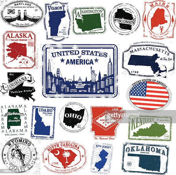 american travel splendor - travel tag stock illustrations, clip art, cartoons, & icons