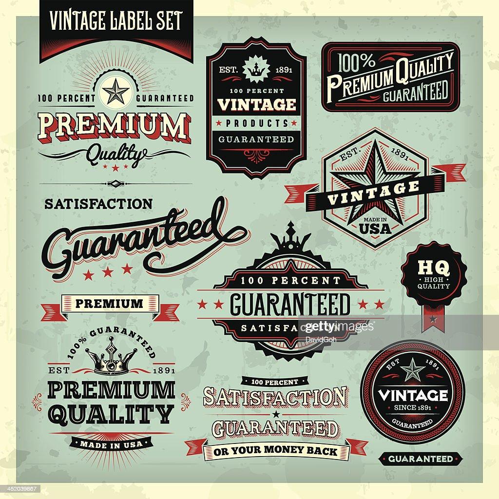 American Vintage Labels