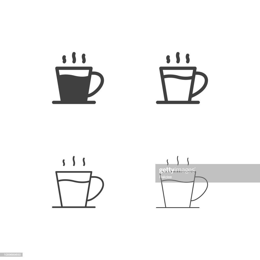 Americano Coffee Icons - Multi Series