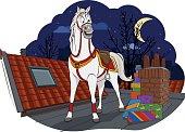 Amerigo, the horse of Sinterklaas