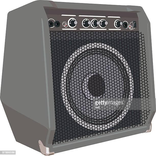 amp - amplifier stock illustrations, clip art, cartoons, & icons