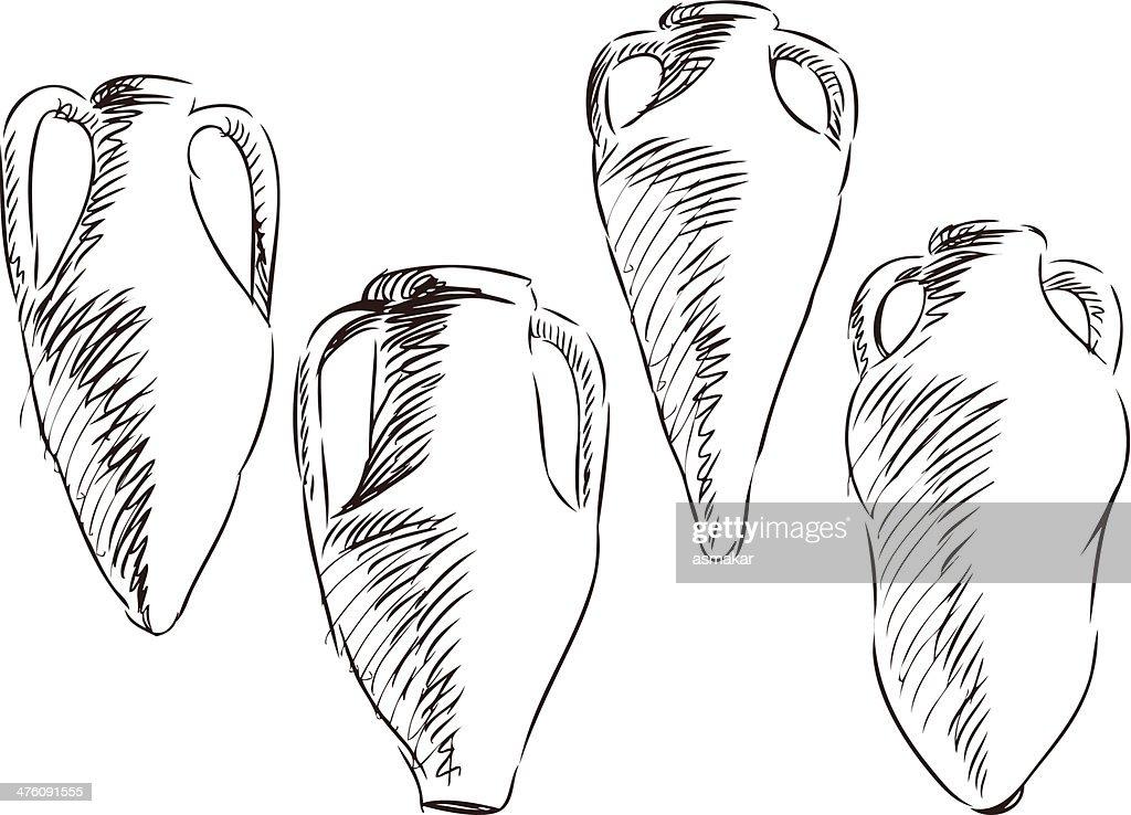 amphoras for wine