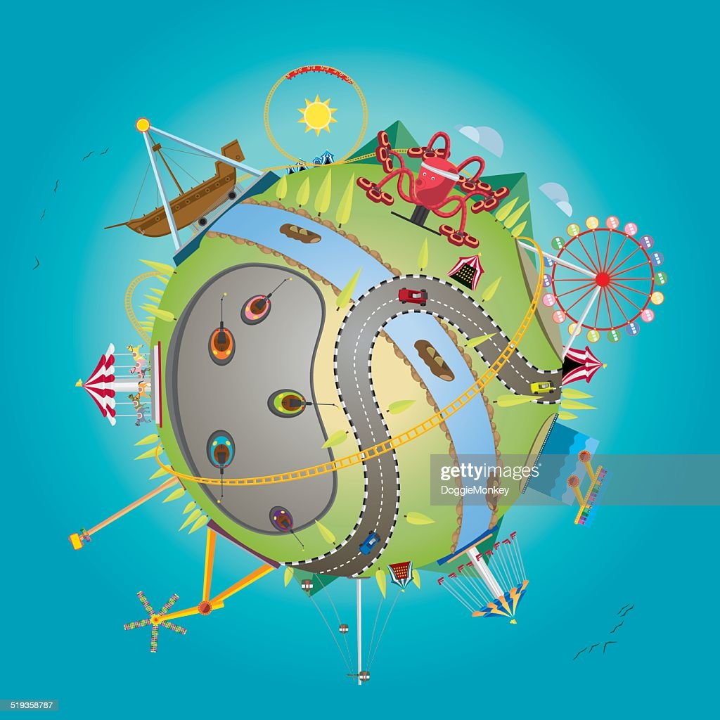 amusement globe