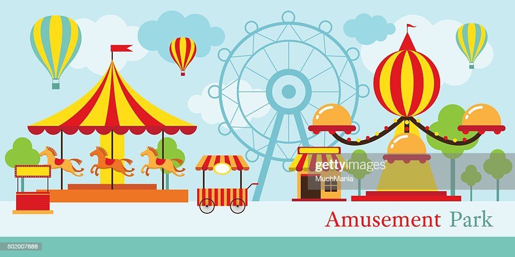 Amusement Park, Carnival, Fun Fair