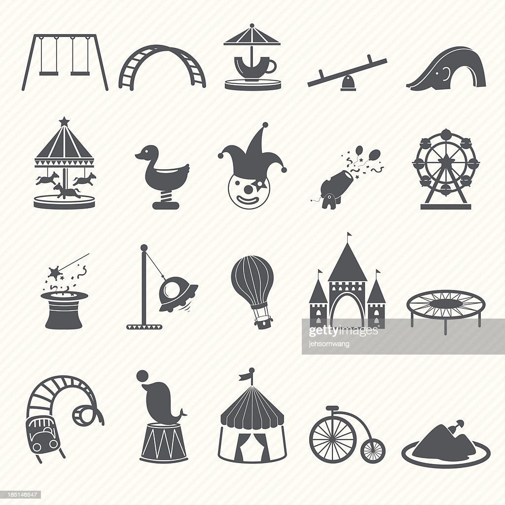 Amusement Park icons