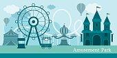 Amusement Park Mono Color