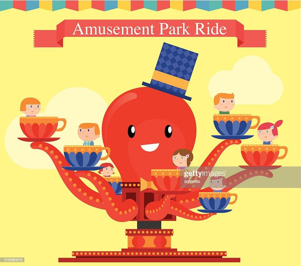 Amusement Park Octopus Game
