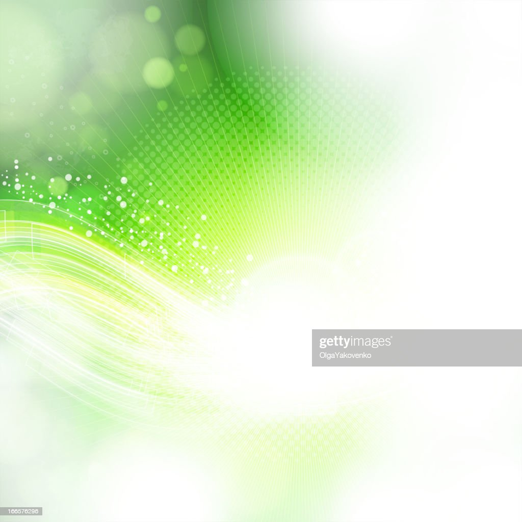 An abstract green fading seamlessly around the image