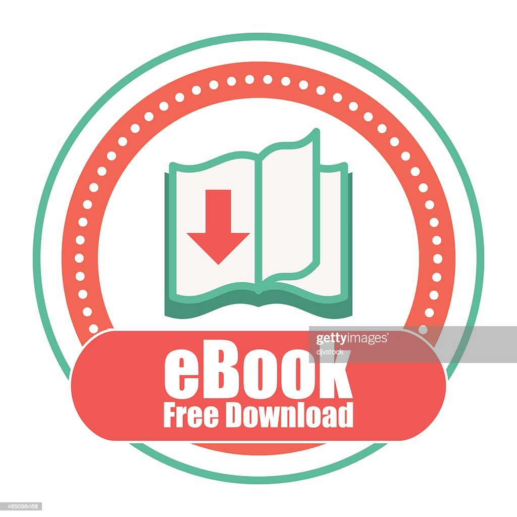 An icon for free eBook download