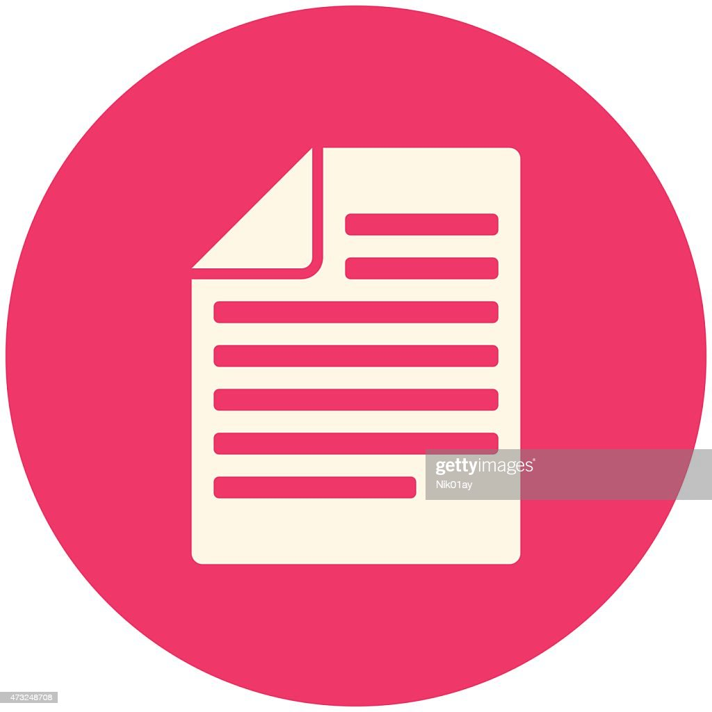An illustration of articles icon