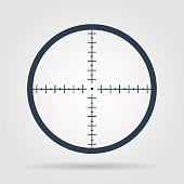 An illustration of target aiming
