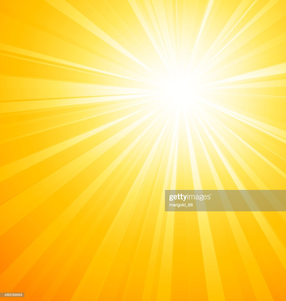 An image of a sun gleaming down