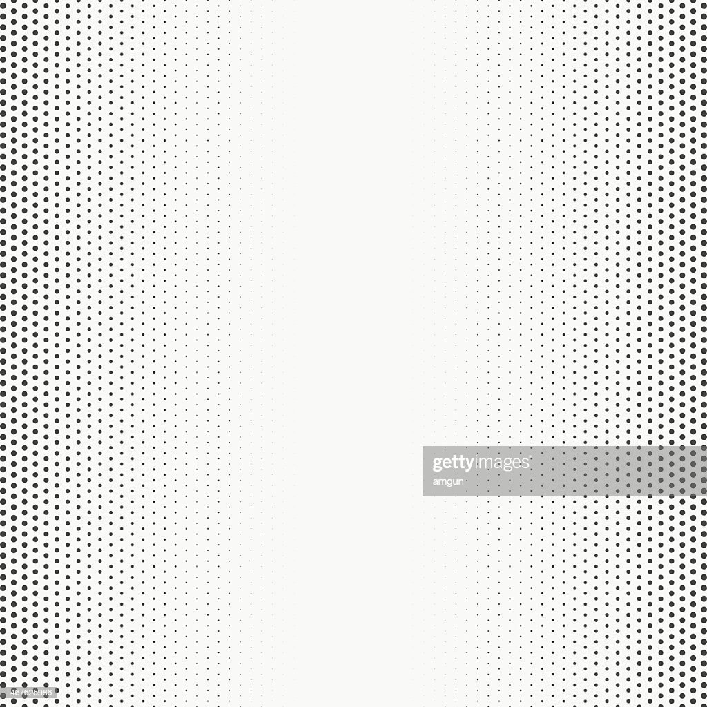 An up close picture of a halftone texture