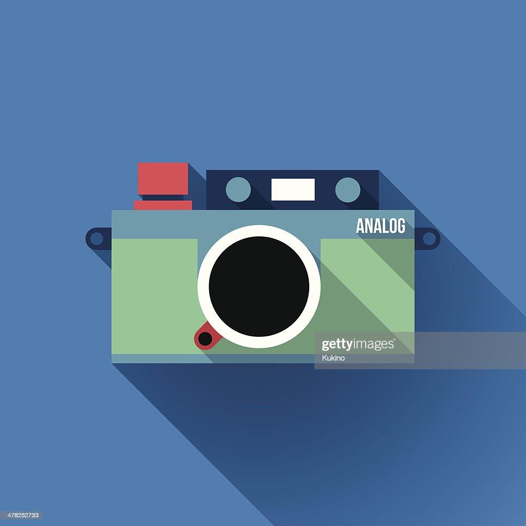 Analog Rangefinder Film Camera