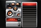 Analog Stereo MP3 Music Media Player
