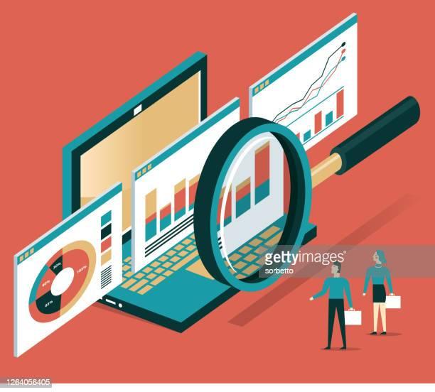 analyse - web-seite - überprüfung stock-grafiken, -clipart, -cartoons und -symbole