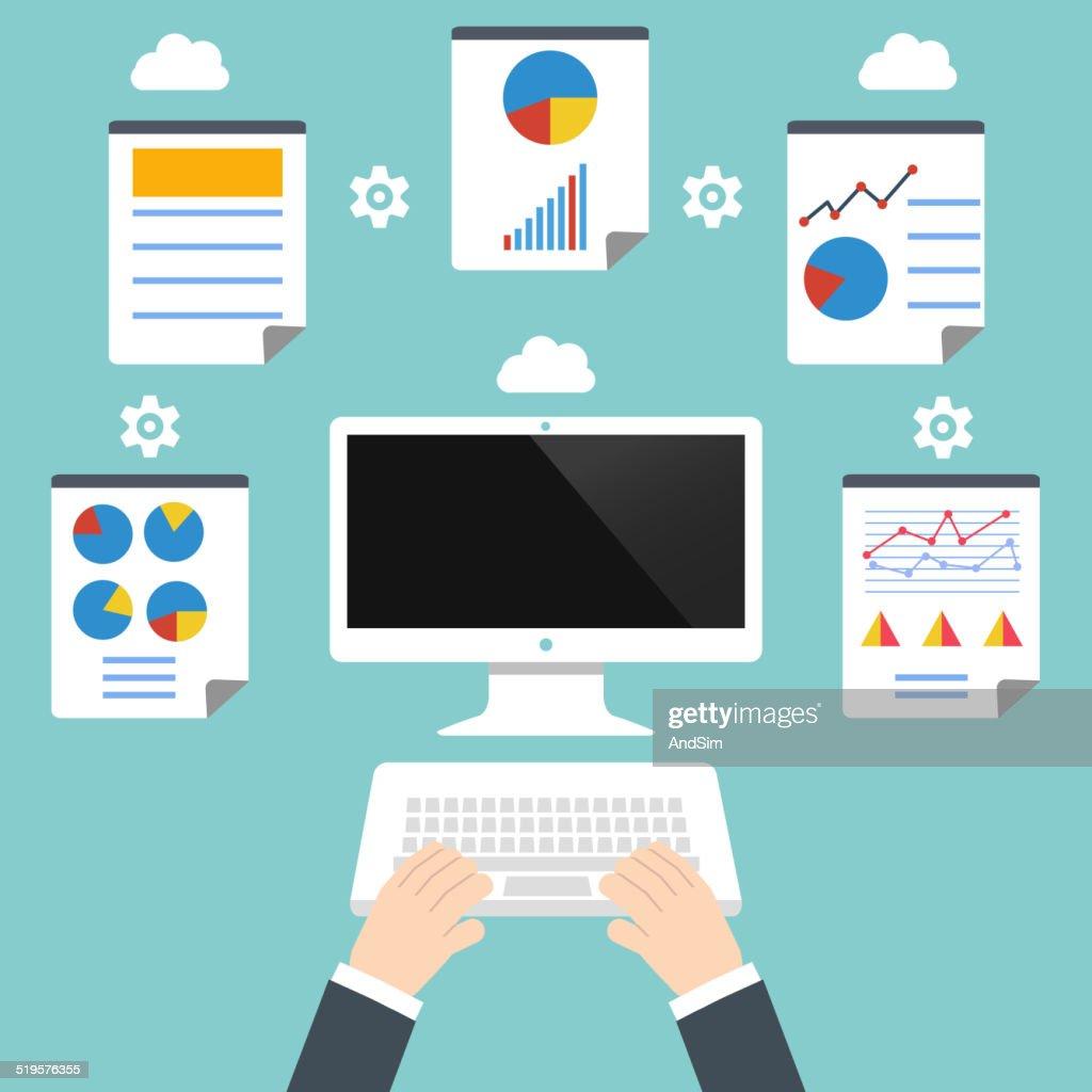 Analytics and programming vector