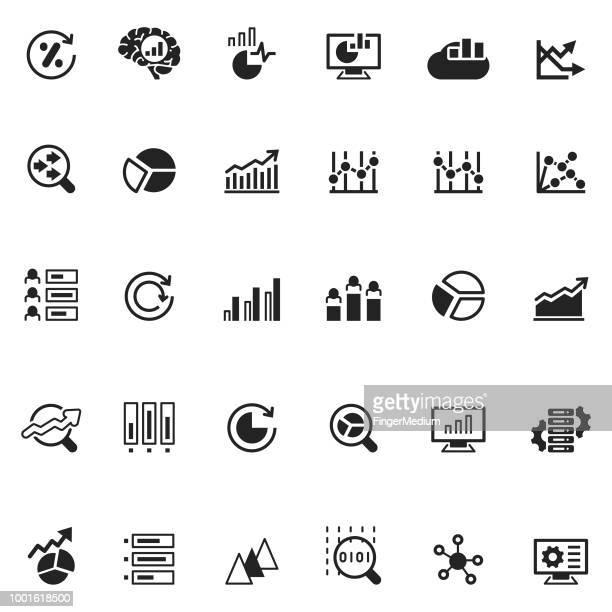 解析アイコン - 固体点のイラスト素材/クリップアート素材/マンガ素材/アイコン素材