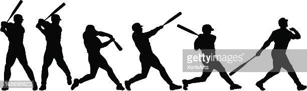 anatomy of a home run - baseball stock illustrations, clip art, cartoons, & icons