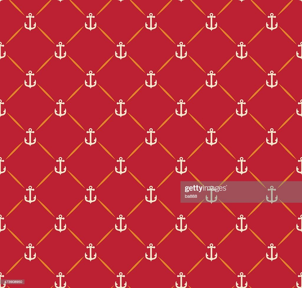 Anchor Background Seamless Pattern