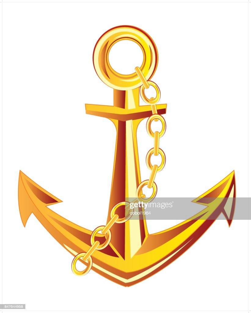 Anchor from gild