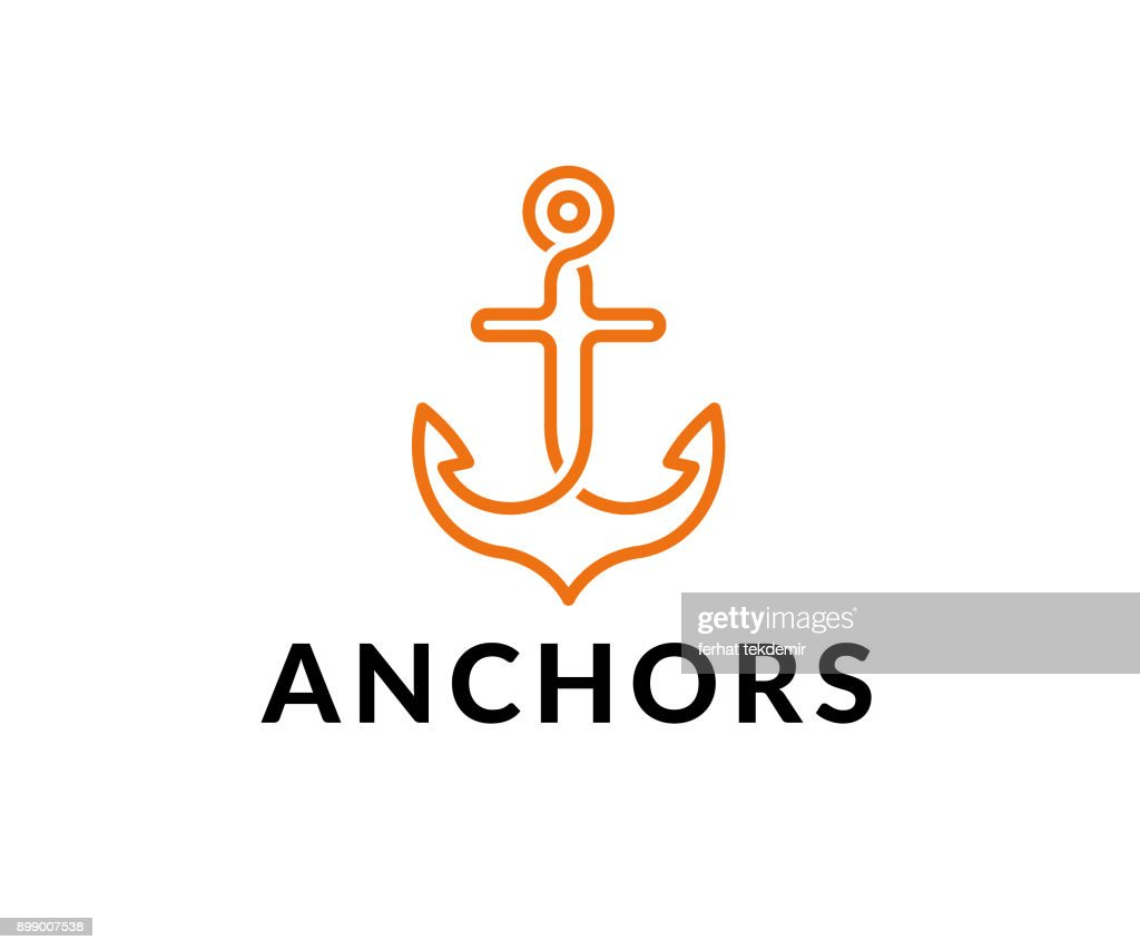 anchor vector icon