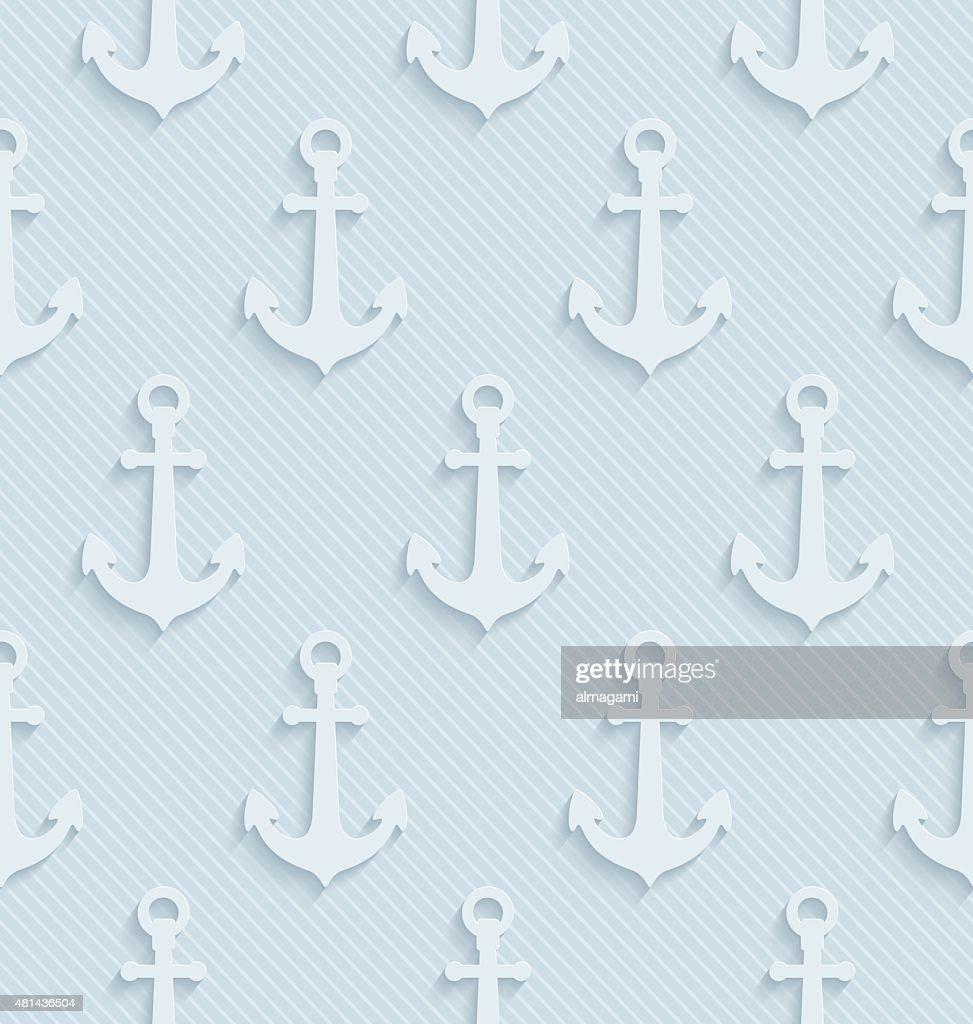 Anchors light gray seamless wallpaper.