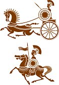ancient cavalry and chariot
