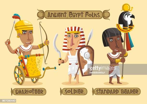 Alten Ägypten Zeichen Satz