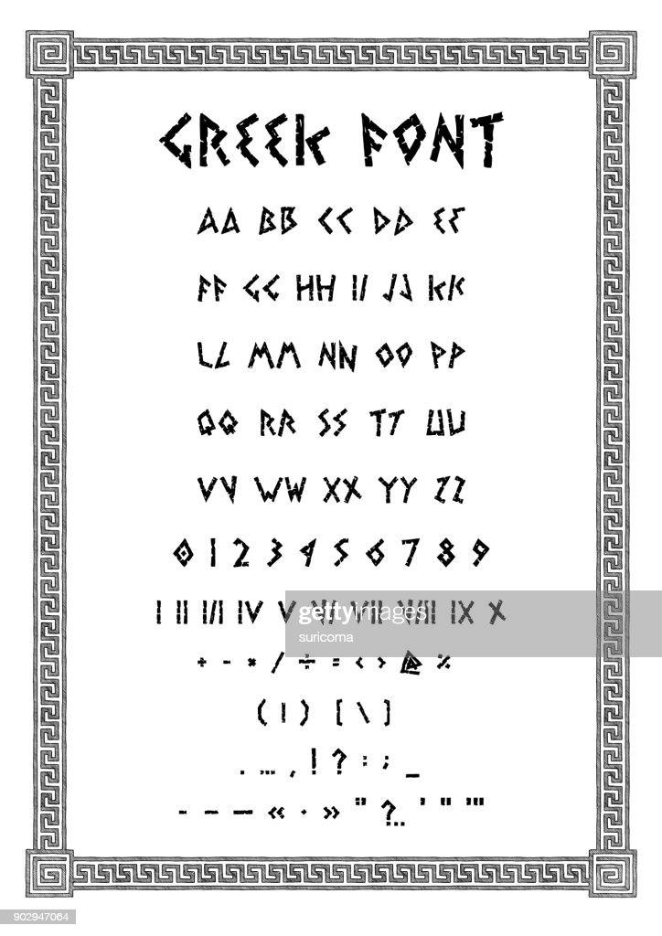 Ancient Greek font