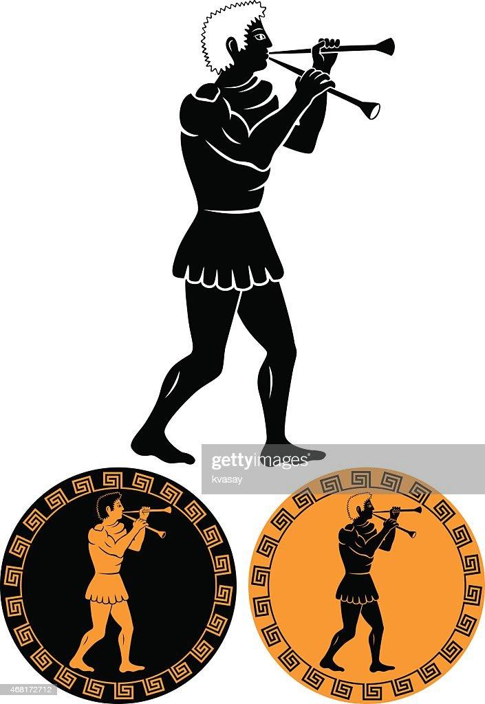 ancient Greek musician