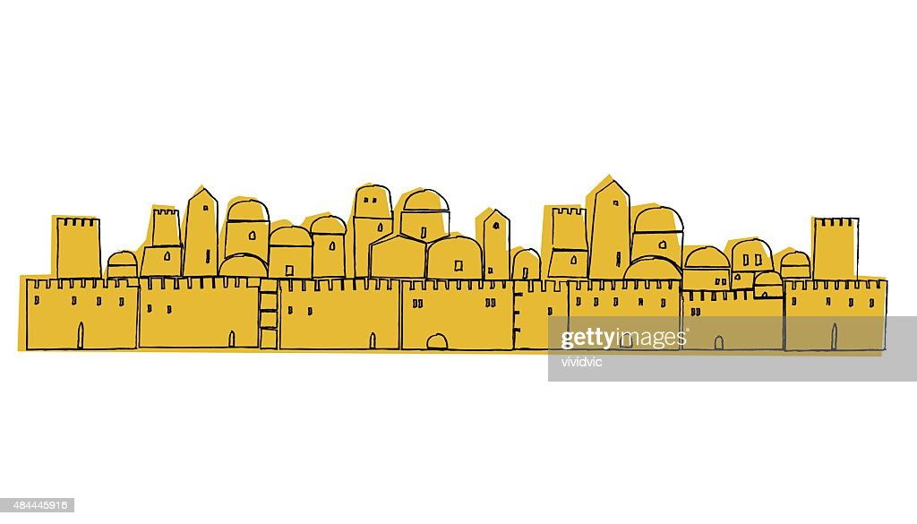 Ancient, Old City, Middle East