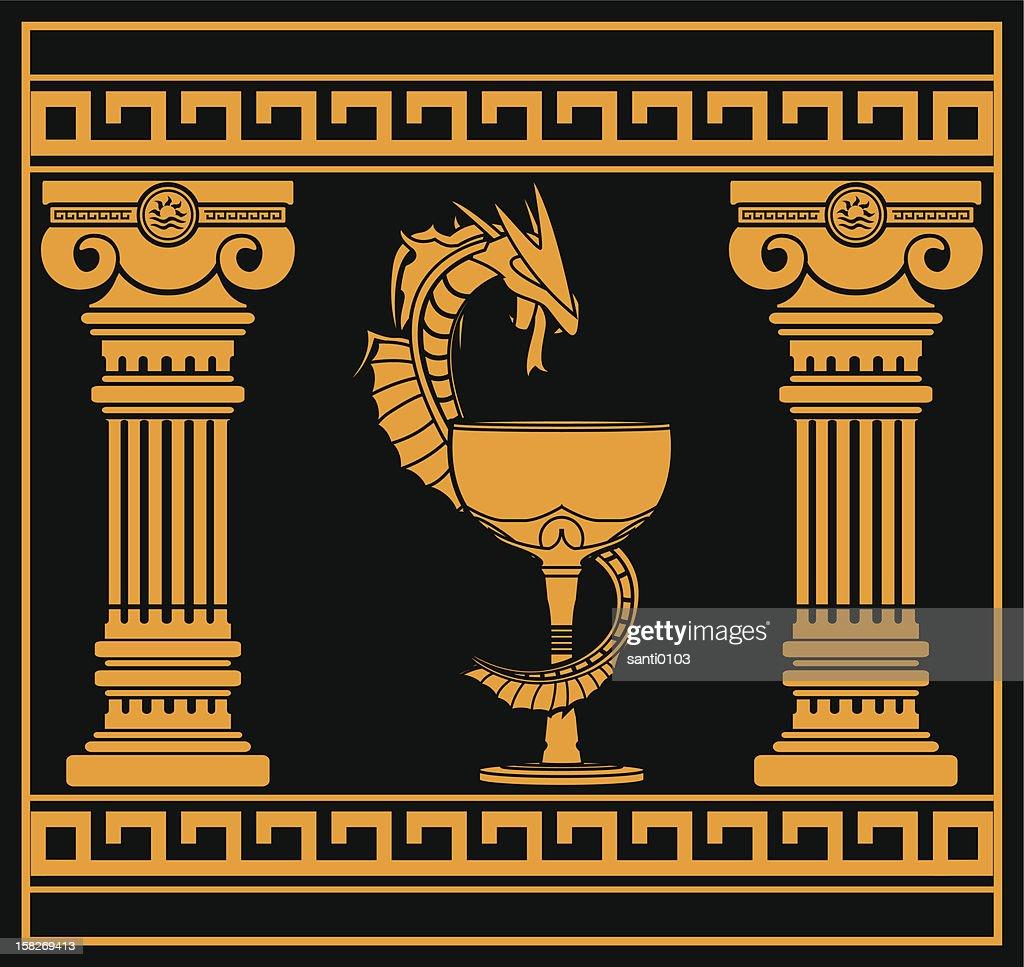 ancient pharmacy symbol