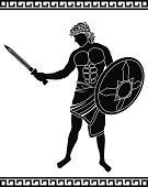 ancient swordsman