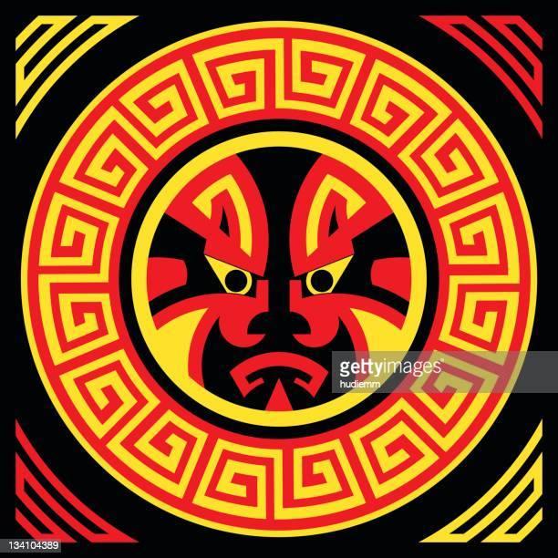illustrations, cliparts, dessins animés et icônes de ancienne masque tribal (vecteur - masque africain