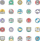 SEO and Internet Marketing Cool Vector Icons 3