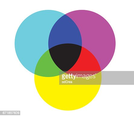 Cmyk And Rgb Color Diagram Vector Art Getty Images