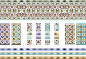 Andalusian Spanish, Moroccan Tiles