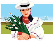andean woman mujer andina